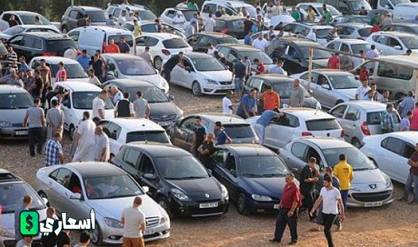 اسعار السيارات في سوق تيجلابين اليوم