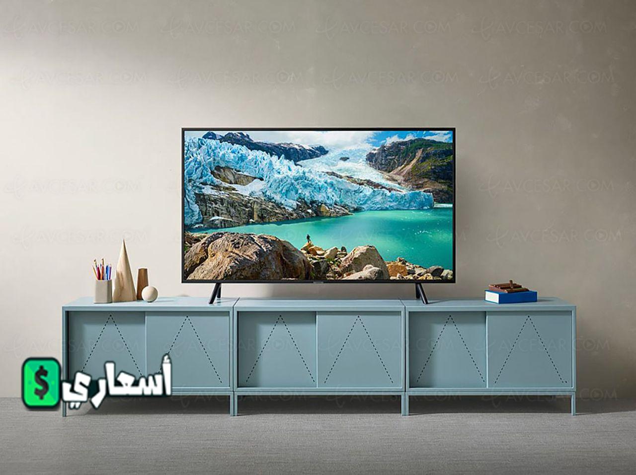 اسعار شاشات سامسونج 50 بوصة 4K في مصر